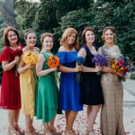 bridesmaids dresses 2017