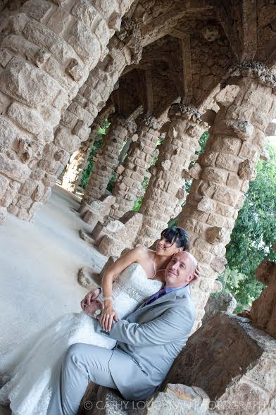 parc guell wedding barcelona