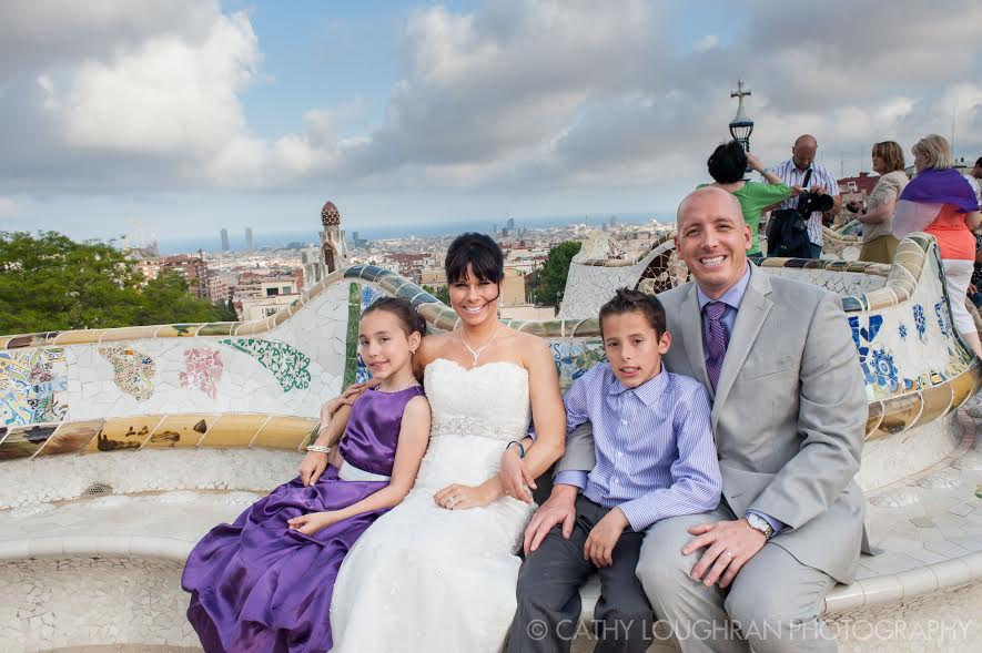 parc guell destination wedding