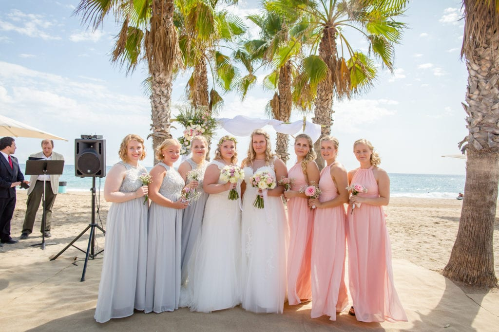 beach wedding barcelona